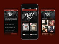 Knuckle Puck Website