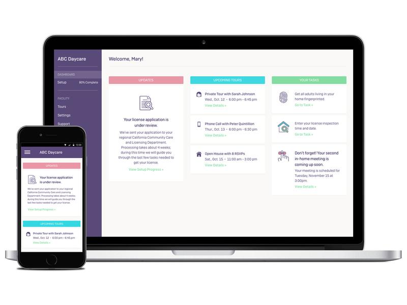 Daybear dashboard dashboard user interface ui product design