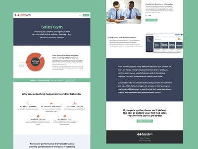 More Info Page for Viddler SalesGym web design saas product info product informational info sheet