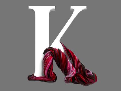 k illustration design animation logo pixel cinema4d 3d