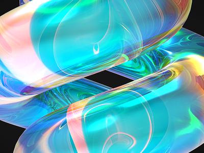 Abstraction1 illustration design pixel cinema4d 3d