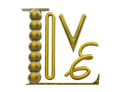 Love type design pixel cinema4d 3d lovers lover