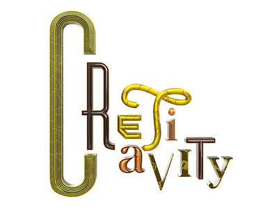 Creativity design pixel cinema4d 3d