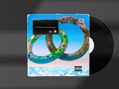 Vinyl Record 2 design pixel cinema4d 3d
