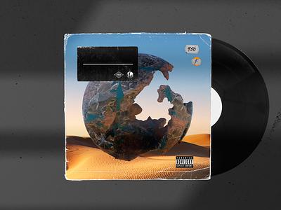 Vinyl Record 3 design pixel cinema4d 3d