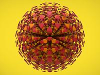 Explosion ball