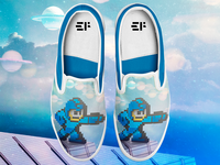 mega man shoes