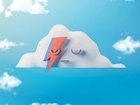 Cloud David Bowie