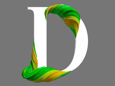 D branding illustration logo pixel cinema4d 3d