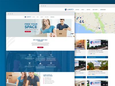 Liberty Storage | Website Launch
