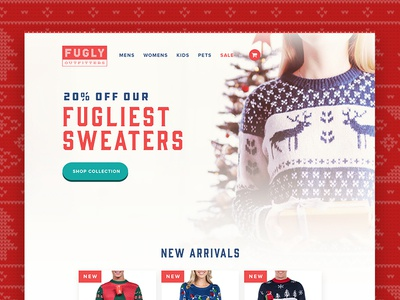 Fugly Outfitters Christmas Sweaters