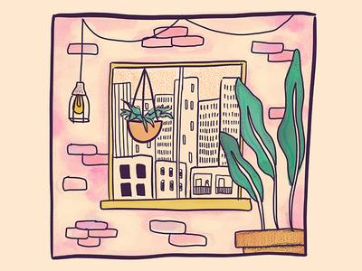 Window Series | Concrete Jungle