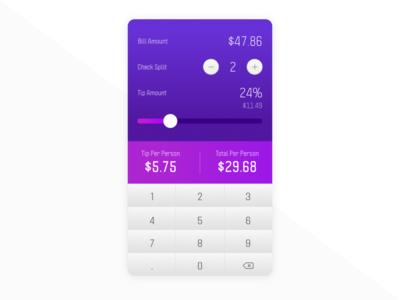 004 - Calculator | 100 UI Challenge