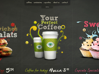 CofeeShop website