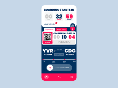 Countdown Timer timer countdowntimer mobile userexperience ux ui 014 dailyui