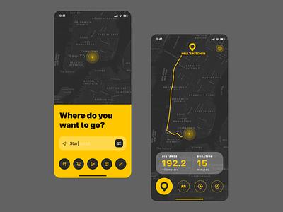 Map maplocation appdesign app userexperience ux ui 029 dailyui