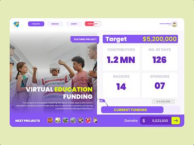 Crowdfunding Campaign investors webdesign seedfunding crowdfunding web ux ui 032 dailyui
