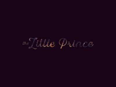 The Little Prince stars little prince book titles 100 days project