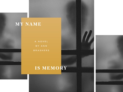 My Name Is Memory gold glass black and white name memory book titles 100 days project