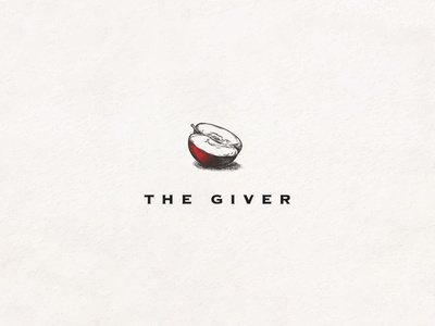 The Giver red apple giver book titles 100 days project