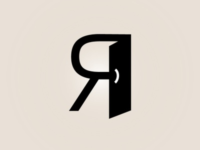 Letter typography letter graphic design logo