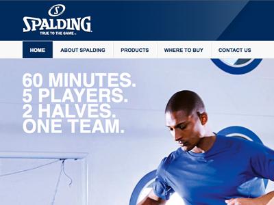 Spalding Homepage