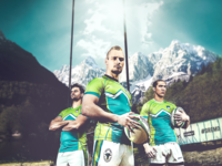 RUGBY SLOVENIA poster