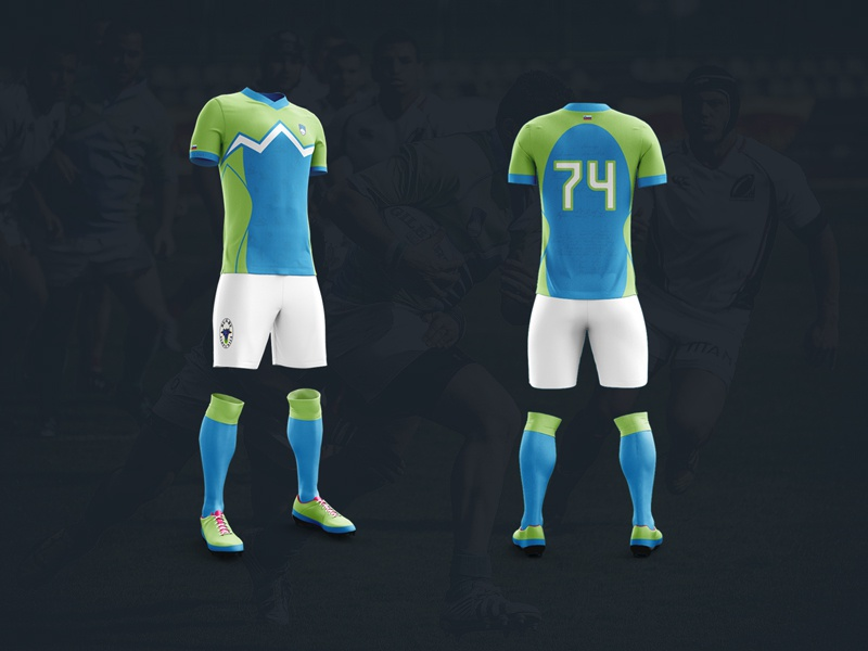 Rugby Slovenia Jerseys shirt wear national slovenia kit jersey rugby