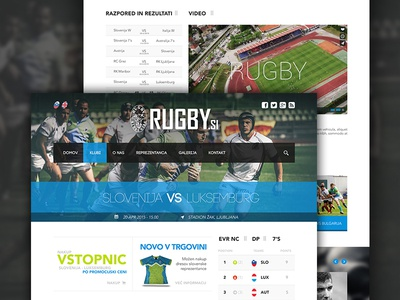 Slovenian Rugby Union Website sport slovenia hero news magazine football sports page webpage website web rugby