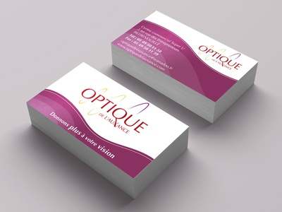 Business card redesign poitiers print business card