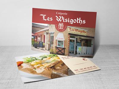 Gift card Wisigoths cadeau carte les wisigoths vouillé poitiers card gift