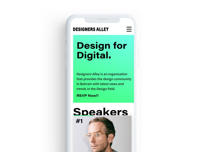 Designers Alley Website (1) ui web-design web