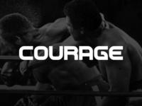 Type Face Courage (Beta)