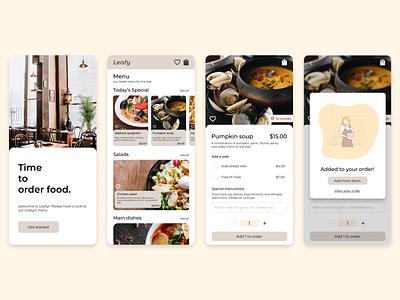 Food menu app dailyui 16 dailyui 016 food menu app menu food menu food meny app app design ux design ux mobile app resturant pop-up dailyuichallenge daily ui dailyui design ui design uidesign ui