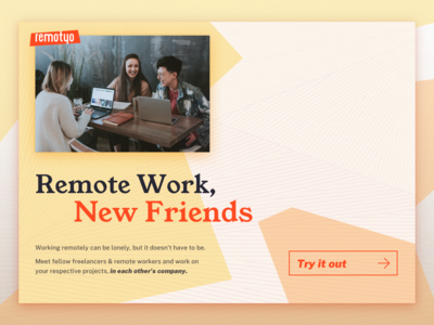 Remote Work, New Friends — Remotyo