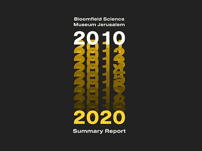 Summary report logo 2020 spring animation logo museum