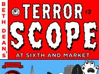 Mini Comic - Terrorscope at 6th & Market