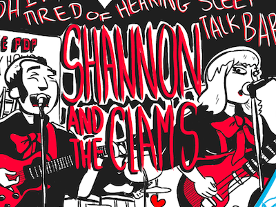 Shannon and the Clams Comic comic illustration