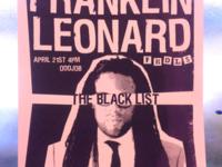 Franklin Leonard Poster