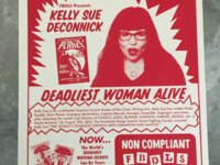 Kelly Sue DeConnick Poster - Facebook Design Lecture Series