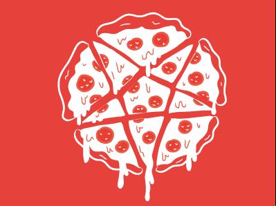 Pizzagram pizza satan