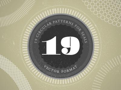 Circular Patterns for Seals – Free circular pattern seal free illustrator vector free patterns logo patterns