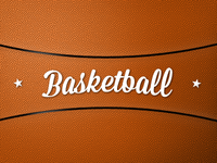 Free – Basketball Texture Pattern