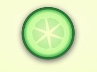 CSS Cucumber Slice