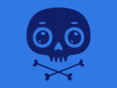 Cute skull. texture retro graphic design skull skeleton grunge cute logo illustration vintage emblem vector poster design print