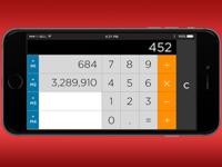 DailyUI 004 Calculator