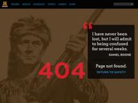 DailyUI 008 404 Page
