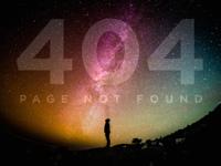 DailyUI 008 404 Page, take 2