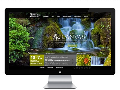 Portland Japanese Garden UX/UI/IA axure prototyping wireframes information architecture responsive ui ux