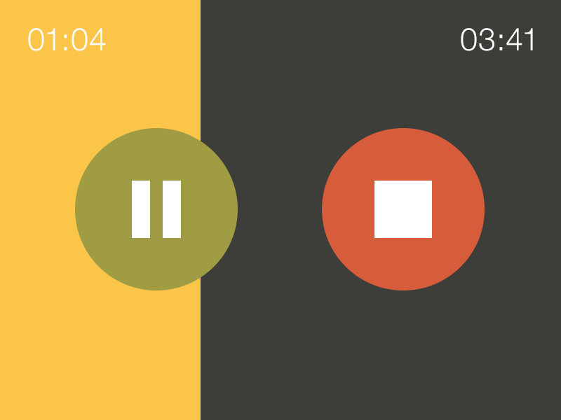 iOS / Android audio playback by Robby Davis on Dribbble